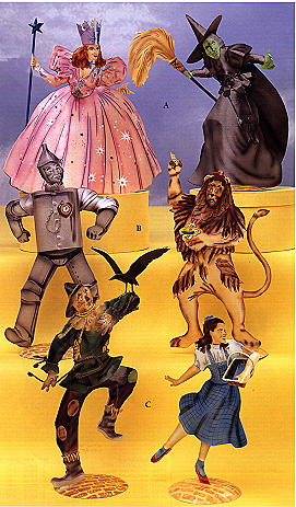 wizard of oz characters. tin Oz characters are nice
