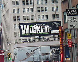 Wicked the Musical in NYC